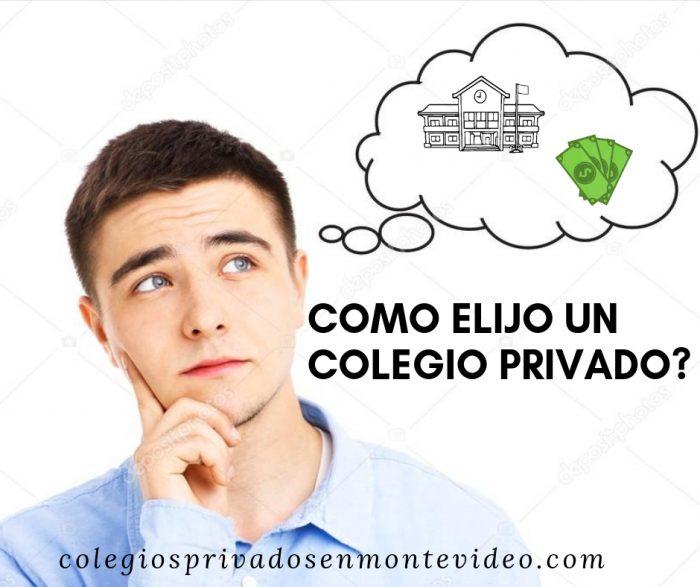 elegir colegio privado